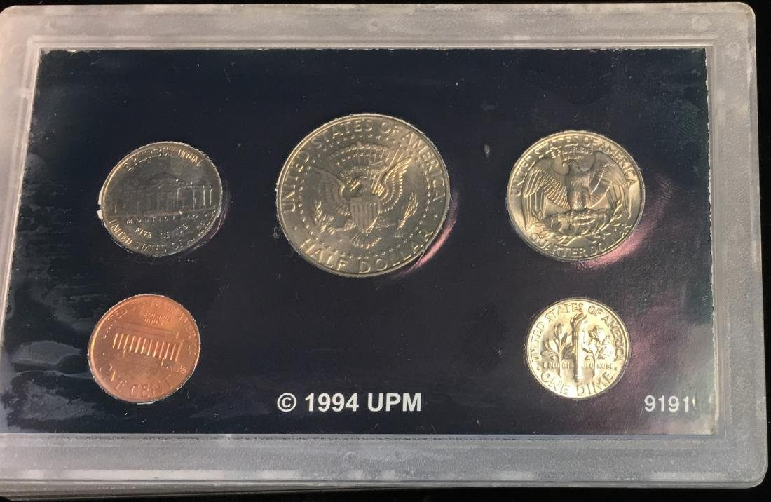 Set of 4 U.S. Date Sets 1990-1993 - 8