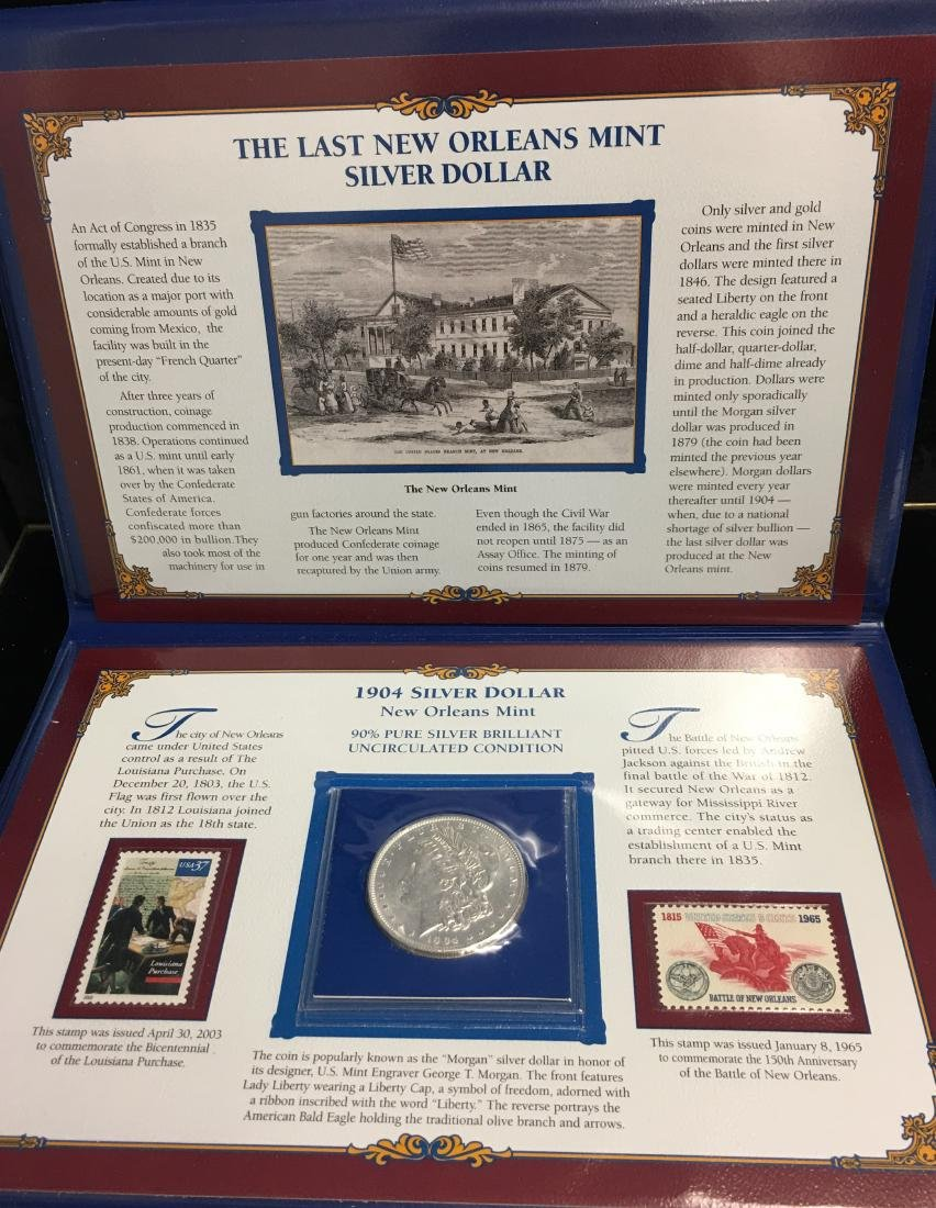 The Last New Orleans Mint 1904-O Morgan Silver Dollar