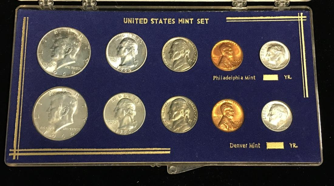 1964-PD Mint Set Brilliant Uncirculated
