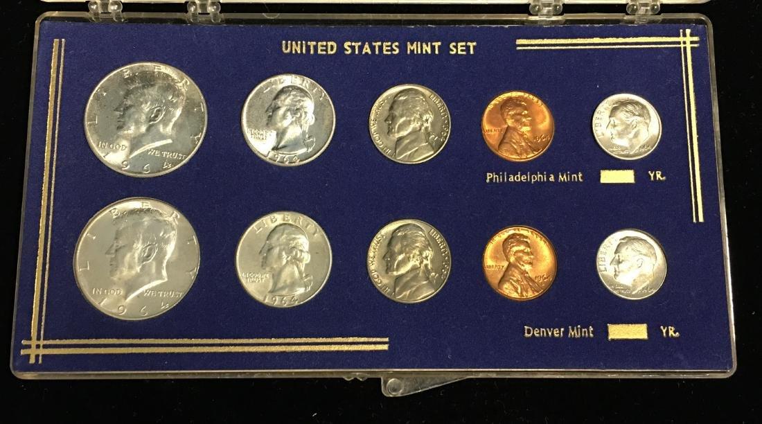 1964-PD Mint Set Brilliant Uncirculated