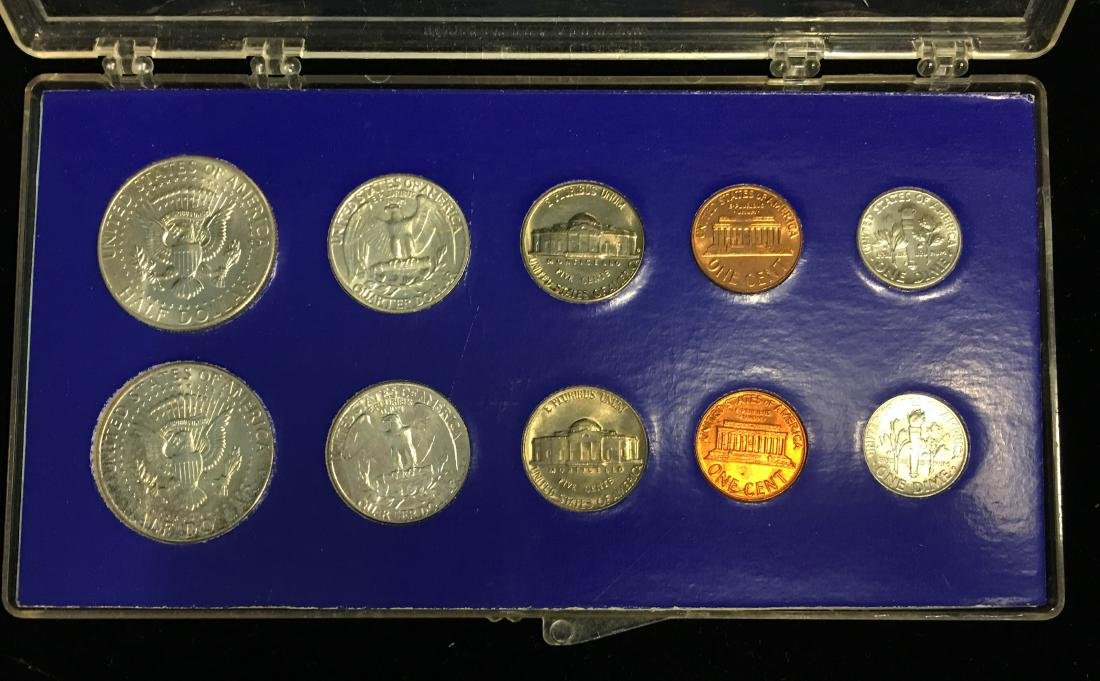 1964-PD Mint Set Brilliant Uncirculated - 2