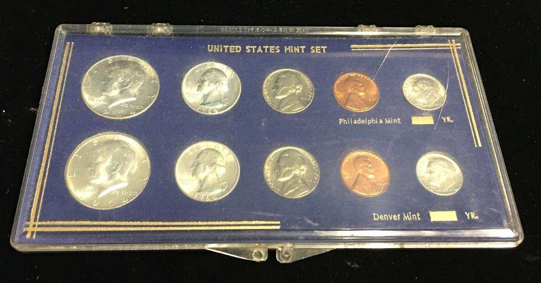 1964-PD Mint Set Brilliant Uncirculated - 3