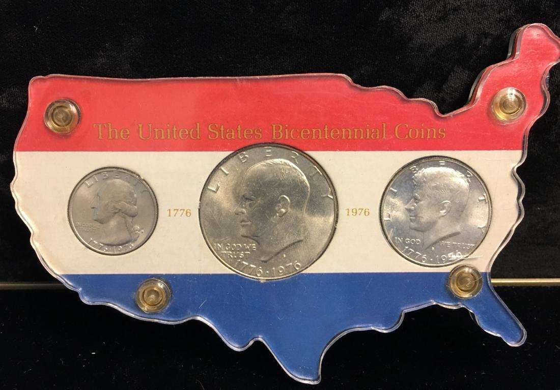 1976 The U.S. Bicentennial 3 Silver Coins Set