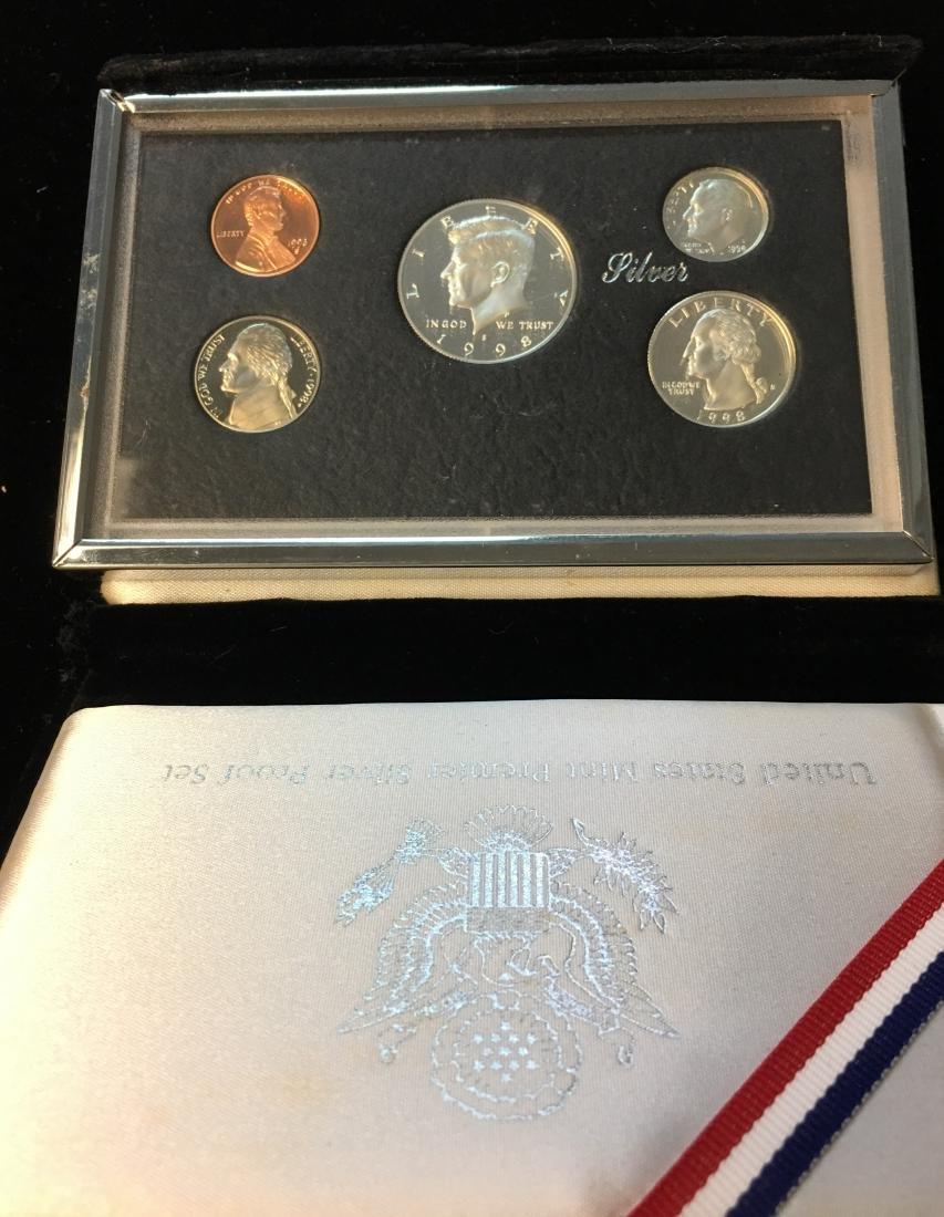 1998 U.S. Mint Premier Silver Proof Set