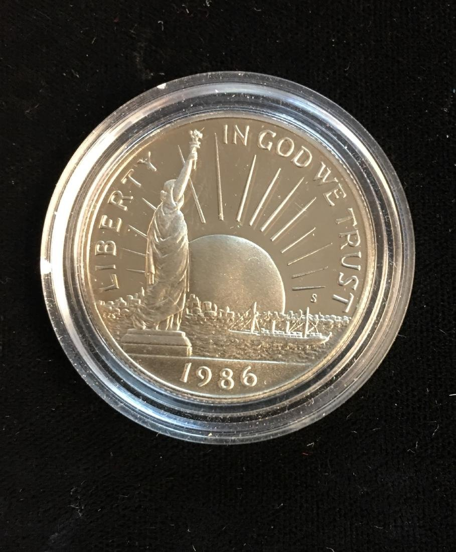 1986-S 50C Statue of Liberty Modern Commemorative Half
