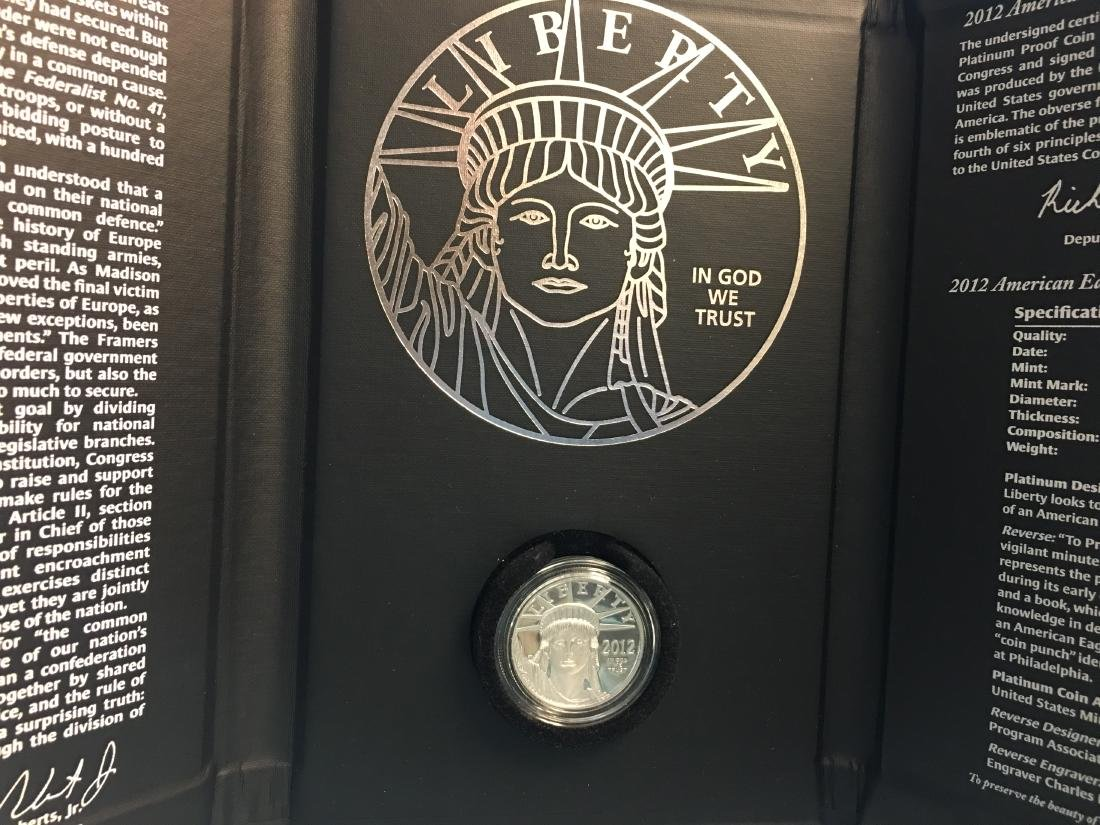2012 U.S. Mint American Eagle Platinum Coin Program: