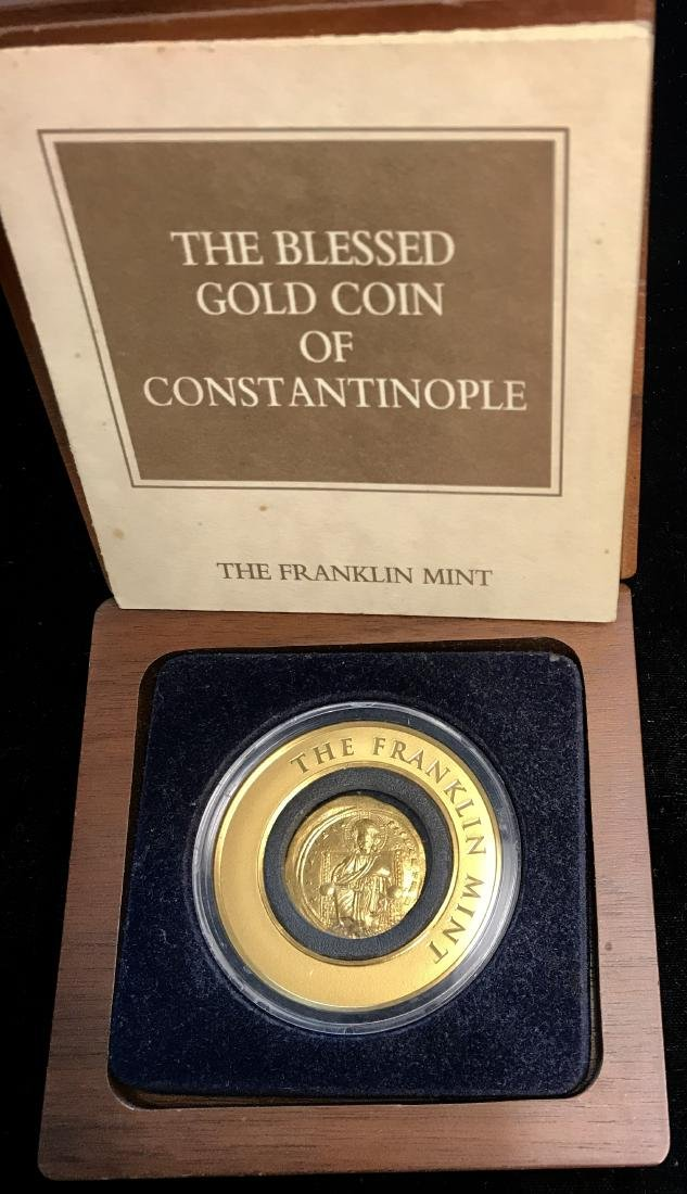 The Blessed Gold Coin of Constantinople Byzantine