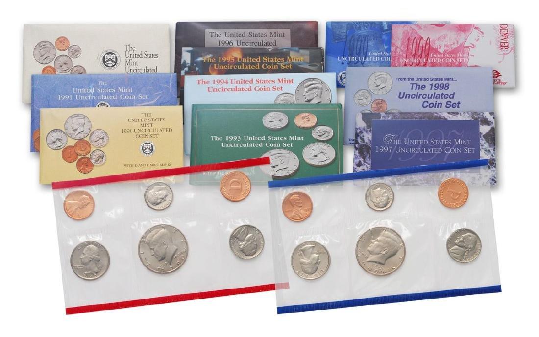 1990's Mint Sets
