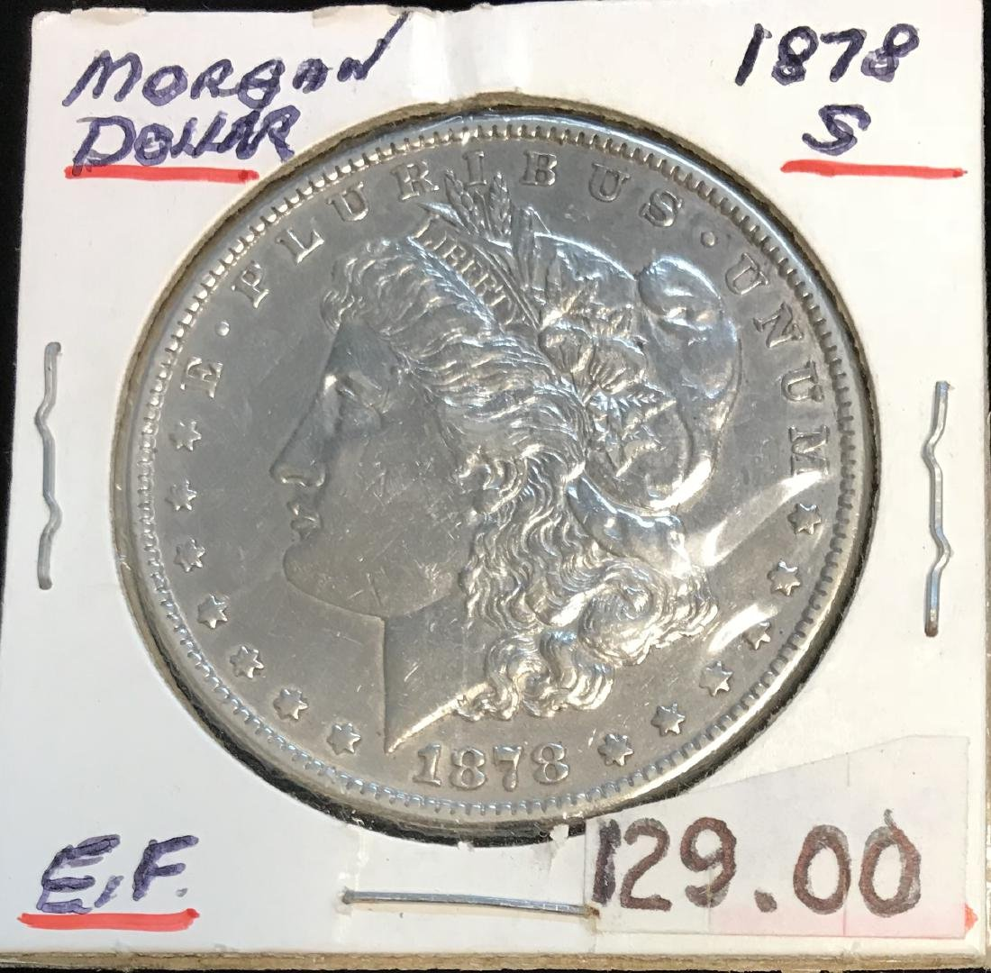 1878-S $1 Morgan Silver Dollar