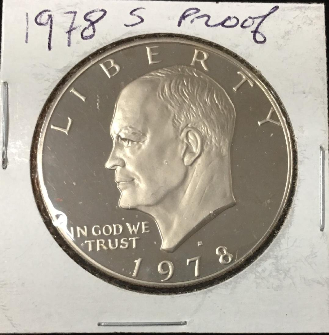 1978-S PROOF EISENHOWER DOLLAR COPPER/NICKEL