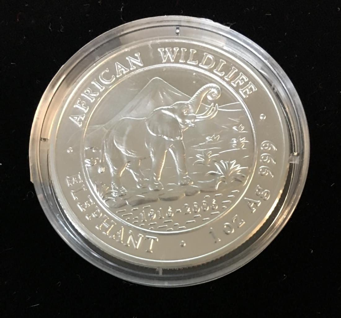 2006 Somali Republic 100 Shillings African WildLife