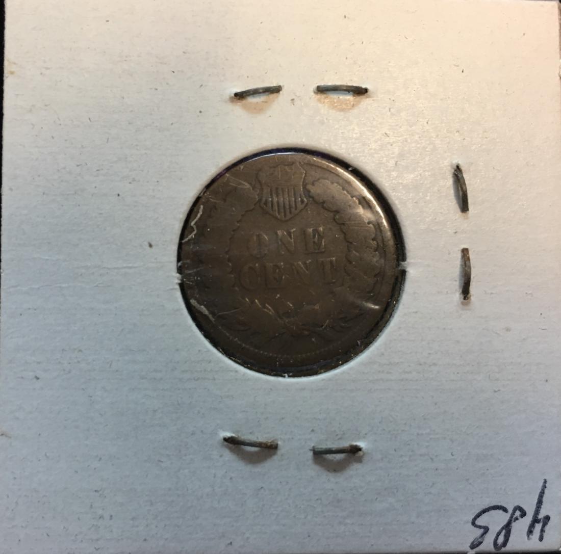 1885 1C Indian Head Cent - 2