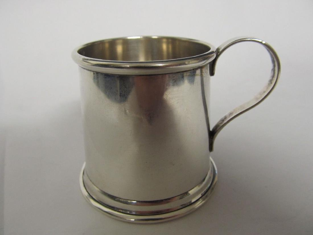 TIFFANY & CO STERLING BABY CUP 2419 VERY GOOD CONDITION
