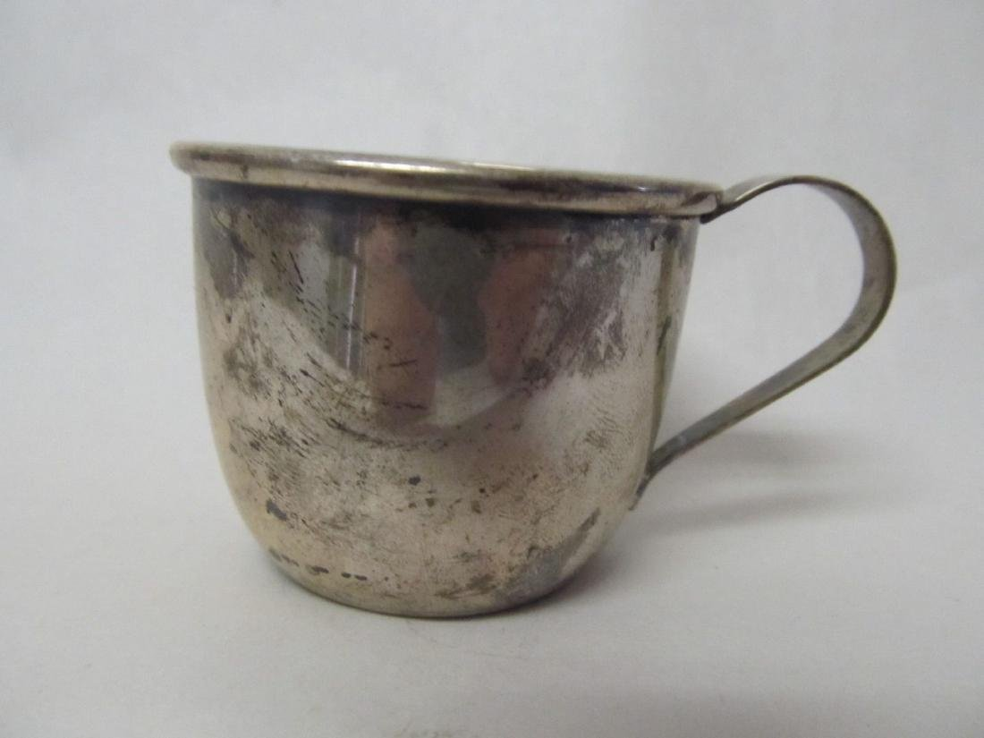 WEB BABY CUP STERLING SILVER SHAPE # 510 RARE EXCELLENT