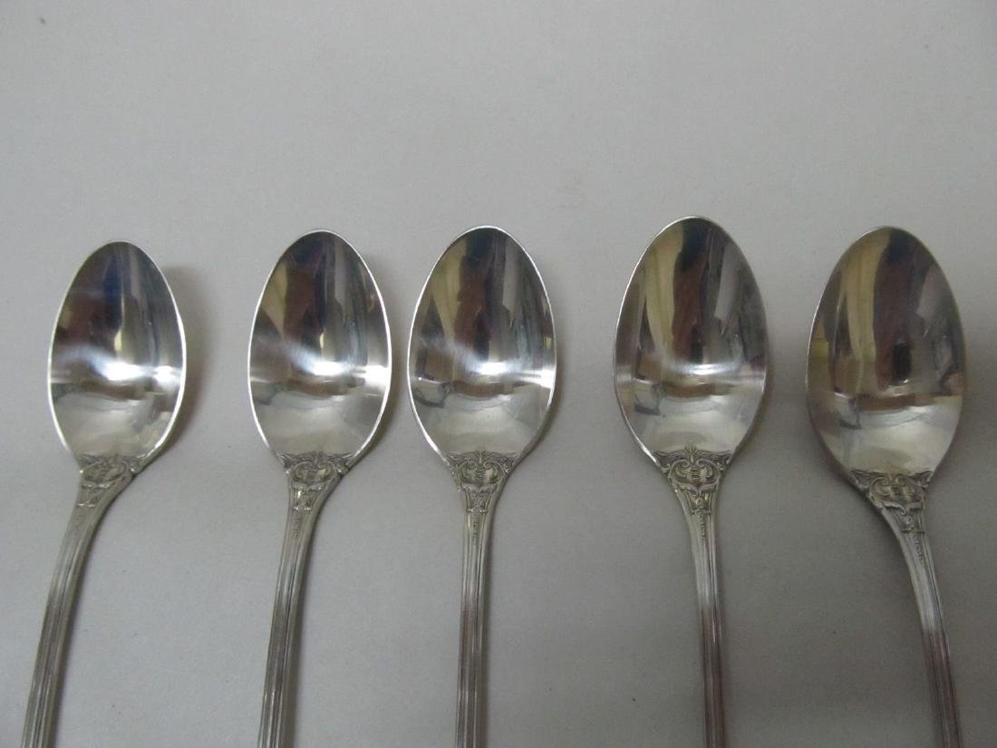 FRANCIS I  REED & BARTON STERLING 5 ICED TEA SPOONS - 5
