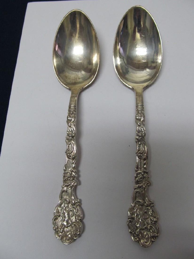 GORHAM VERSAILLES STERLING SILVER LARGE EARLY 2 SERVING