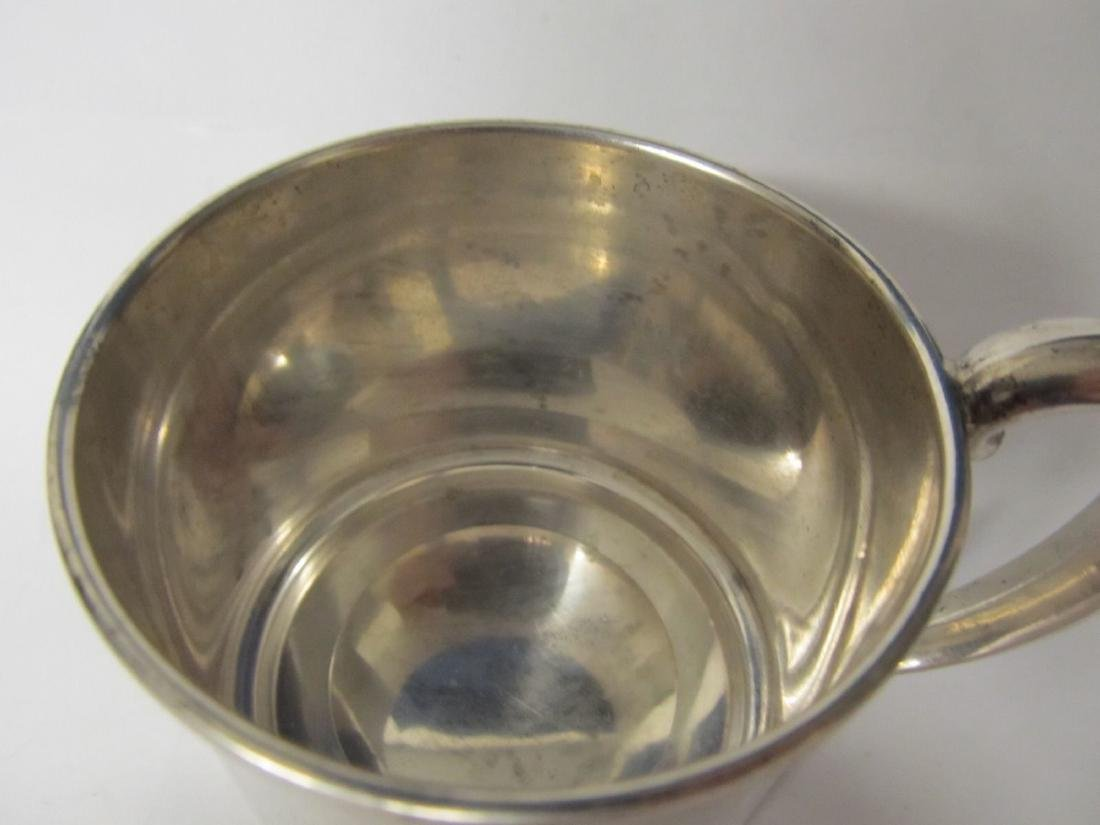 WEBSTER STERLING BABY CUP # 305 EXCELLENT CONDITION - 2