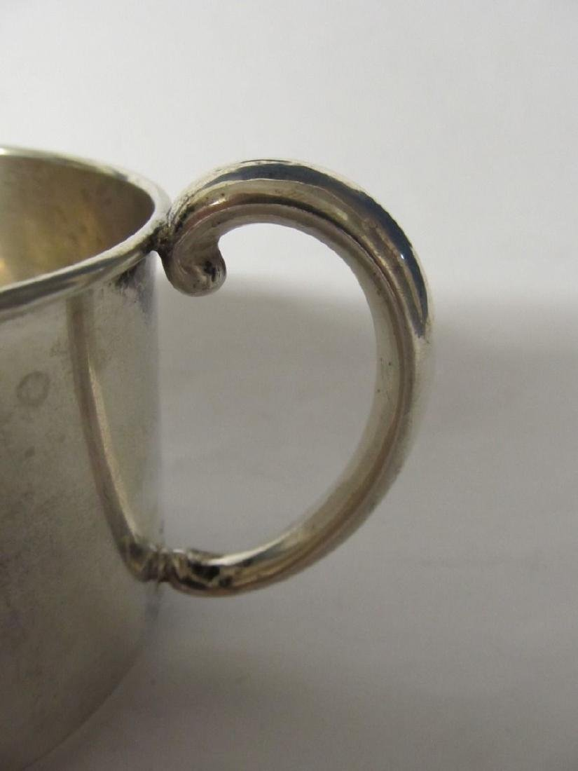 WEBSTER STERLING BABY CUP # 305 EXCELLENT CONDITION - 3