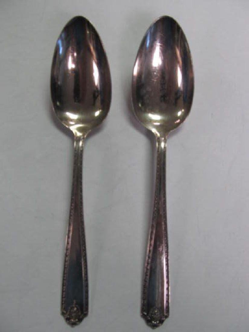 WESTMORLAND LADY HILTON STERLING SILVER SERVING SPOONS