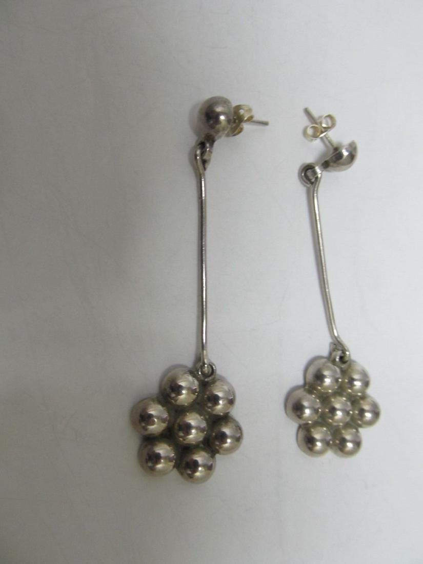 GREAT MEXICAN SGD TM-?? STERLING SILVER DANGLE DROP - 2