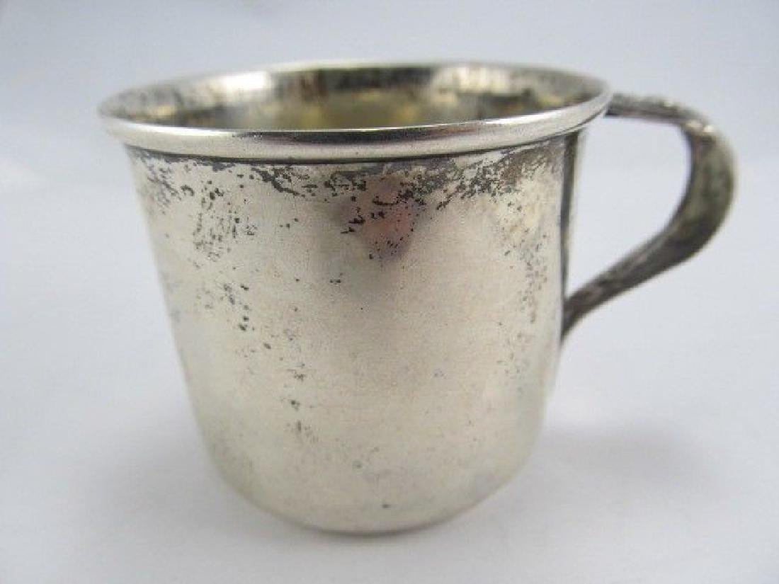 JMS STERLING BABY CUP OVERALL VERY GOOD CONDITION PAUL