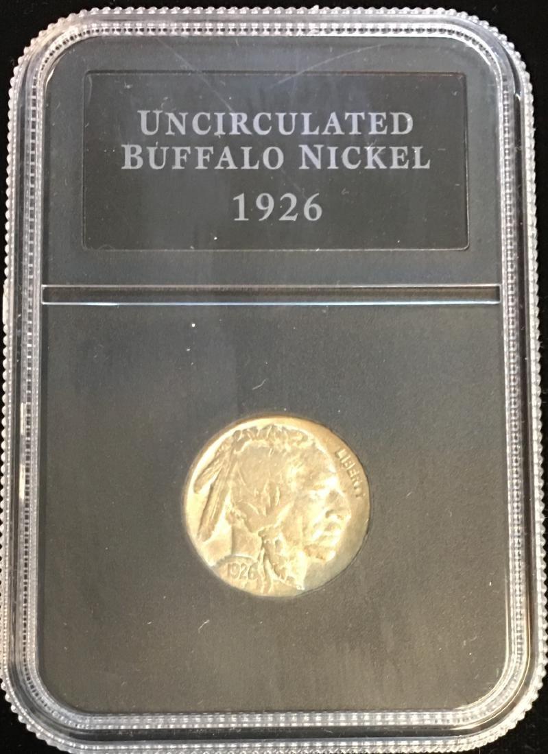 1926 5c Buffalo Nickel Uncirculated