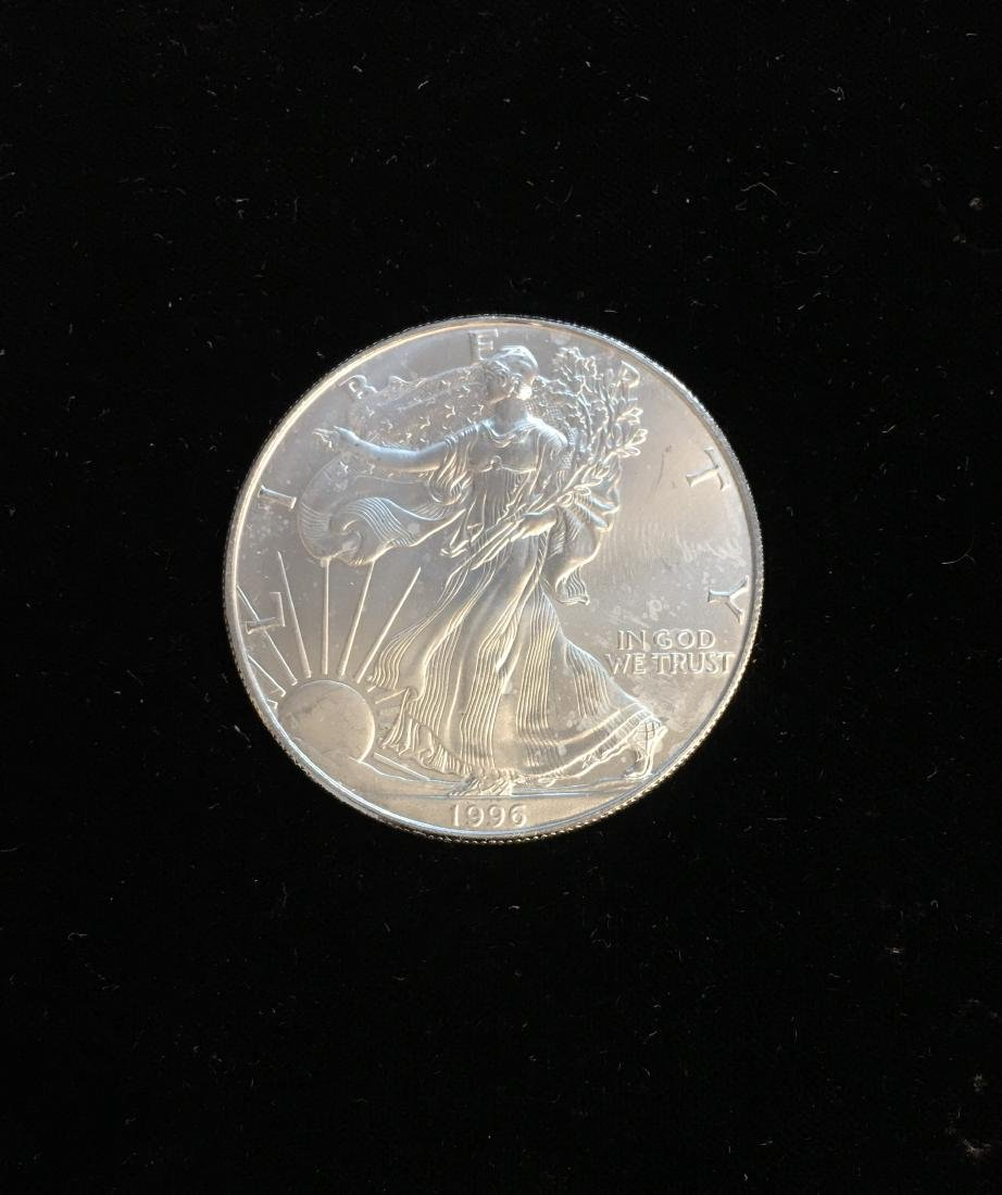 1996 $1 American Silver Eagle 1oz BU