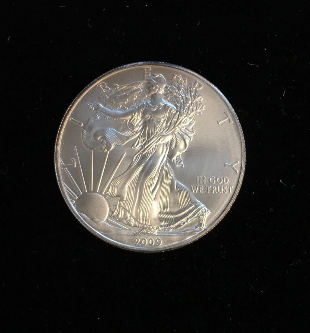 2009 $1 American Silver Eagle 1oz BU