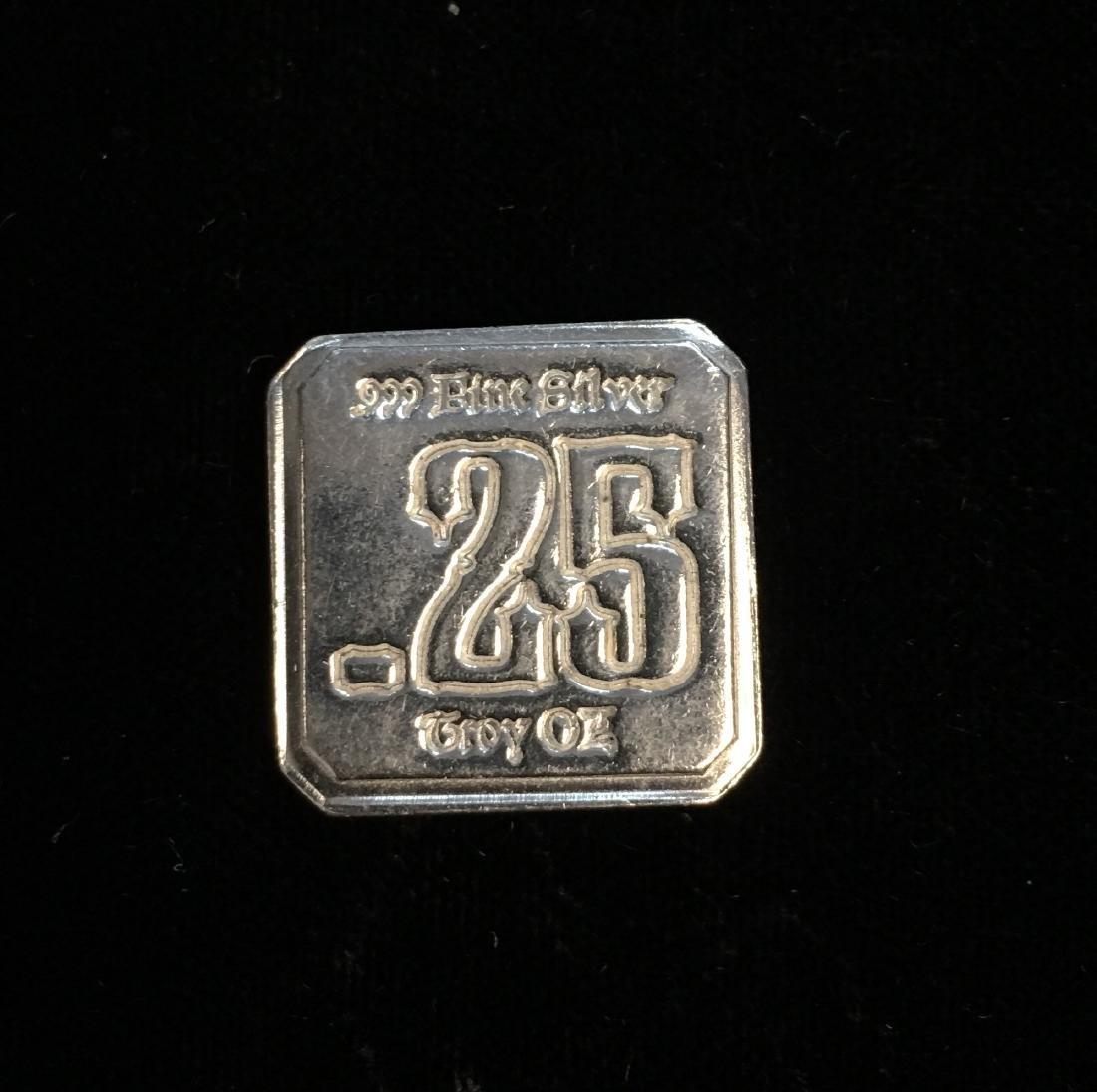 Suns of Liberty Mint 0.25 tr oz .999 Fine Silver
