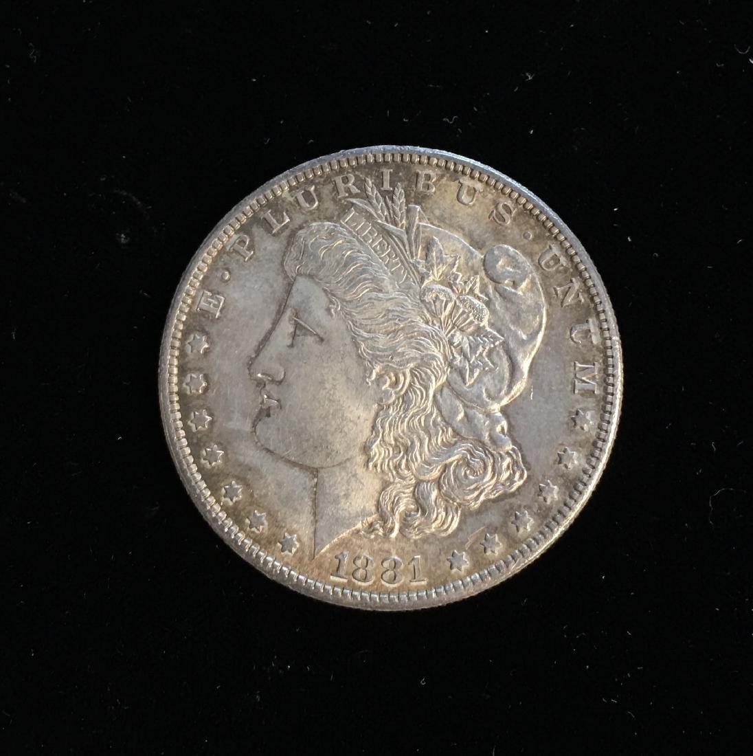 1881-S $1 Morgan Silver Dollar
