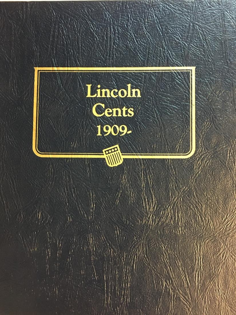 Whitman Classic Album #9112 - Lincoln Cents 1909 -