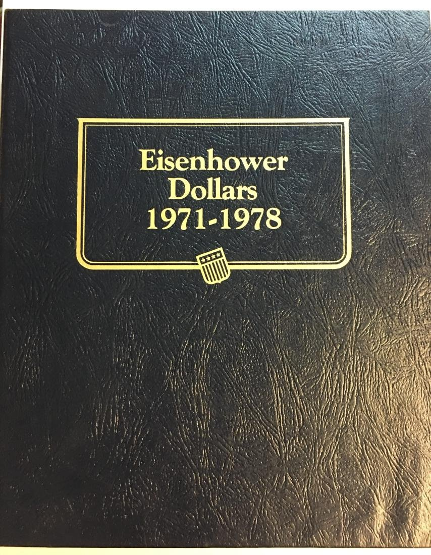 Whitman Classic Album #9131 - Eisenhower Dollars