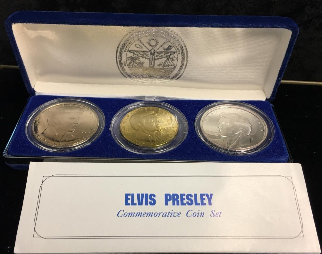 1993 Elvis Presley Commemorative Coin Set