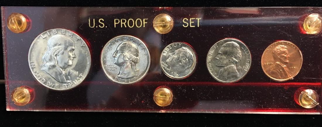 1951 Silver Proof Set