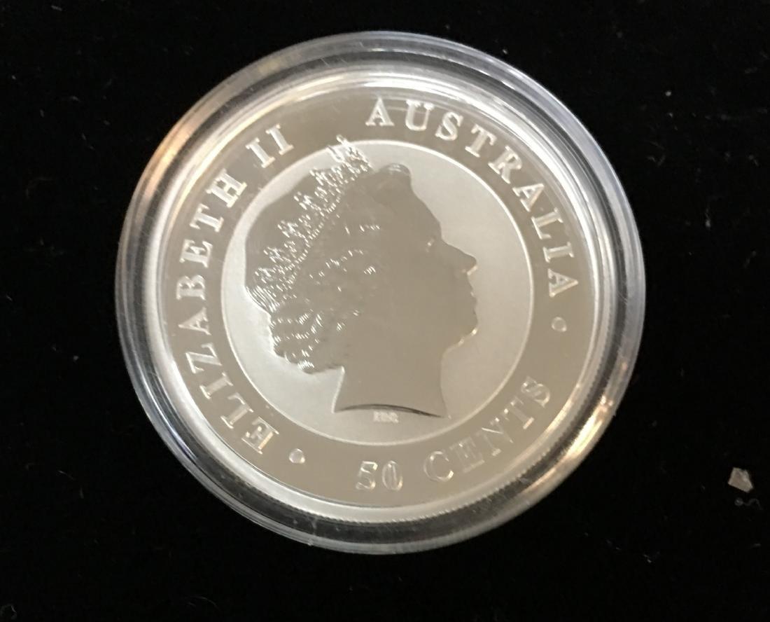 2015 50C Australia Koala 1/2 oz .999 Silver