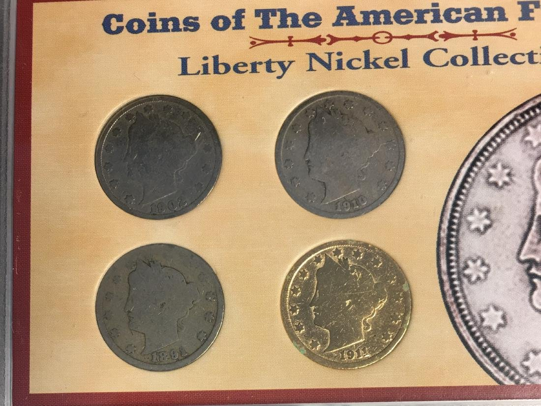 Set of 5 - The American Historic Society - Genuine Coin - 6