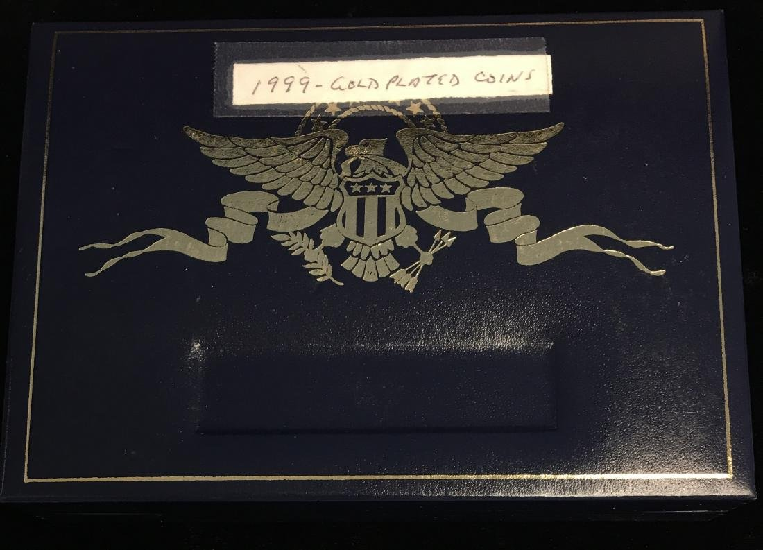 1999 24Kt Gold Plated Coin Set - 4