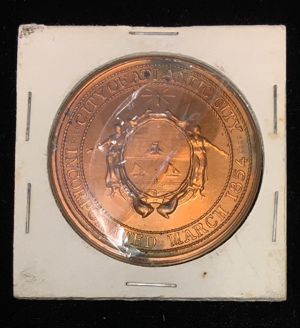 1970 Canada Atlantic City Boardwalk Centennial Medal - 2