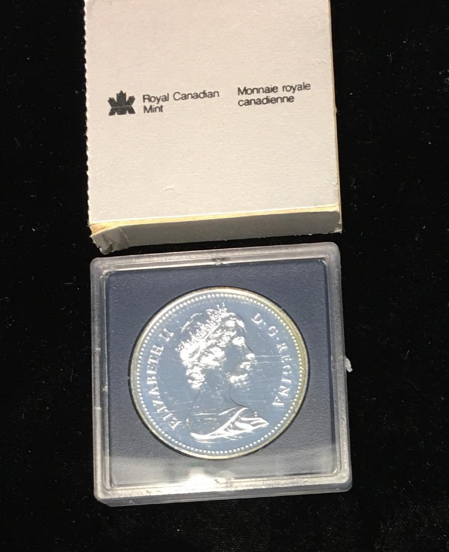 1983 Canada $1 Edmonton Universiade .500 Silver 0.375