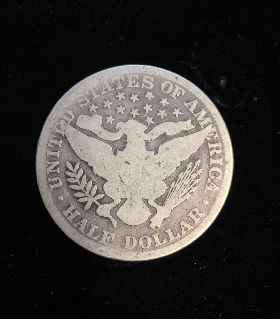 1892-P 50C Silver Barber Half Dollar (Liberty Head) - 2
