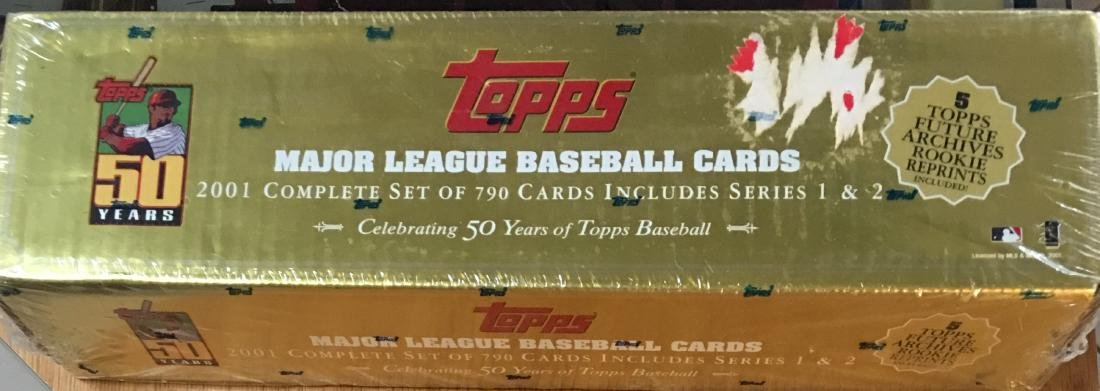 2001 Not Opened Complete Set of Major League Topps