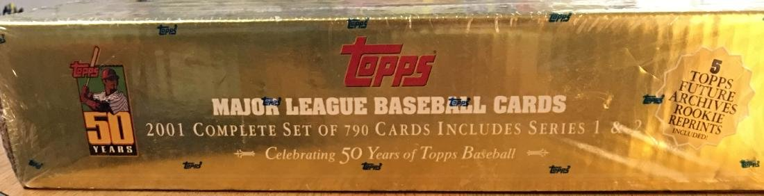 2001 Not Opened Complete Set of Major League Topps - 2