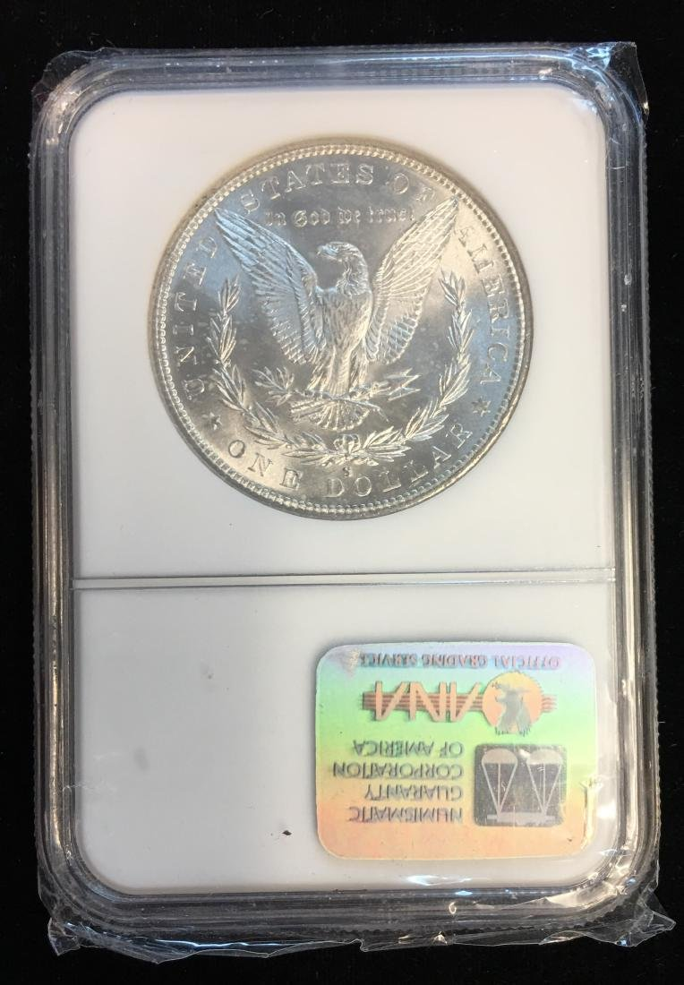 1882-S $1 Morgan Dollar NGC MS64 White - 2