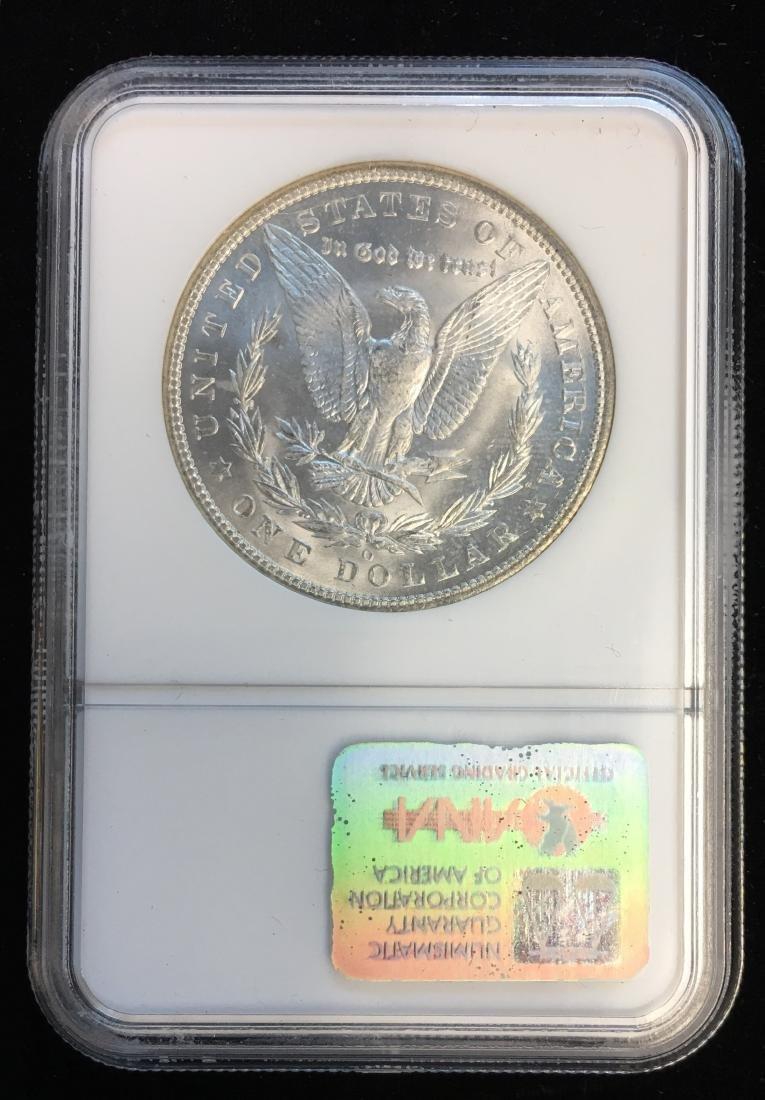 1904-O $1 Morgan Silver Dollar NGC MS64 Original Luster - 2