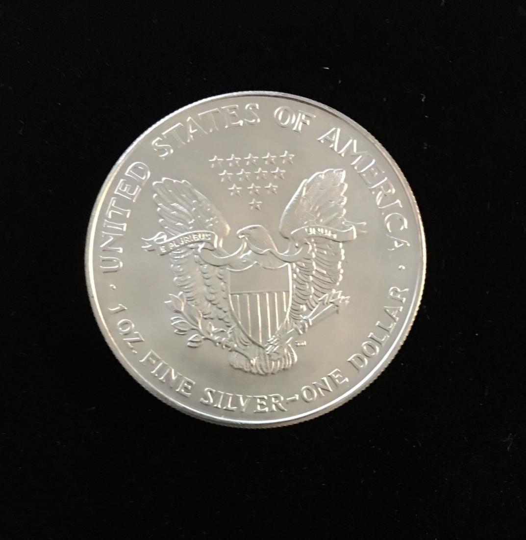 1994 $1 American Silver Eagle BU - 2