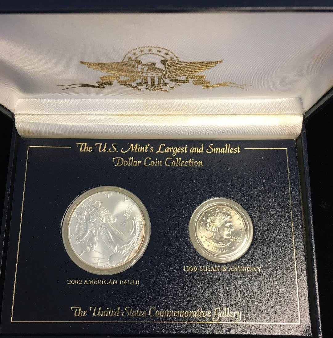 The U.S. Mint's Largest and Smallest Dollar Coin