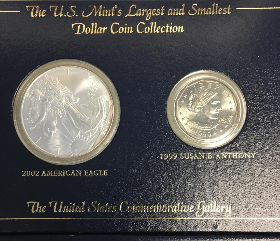 The U.S. Mint's Largest and Smallest Dollar Coin - 2
