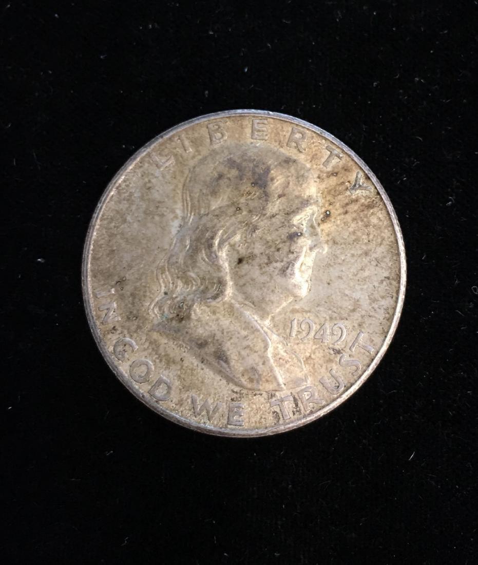 1949-S 50c Franklin Half Dollar AU