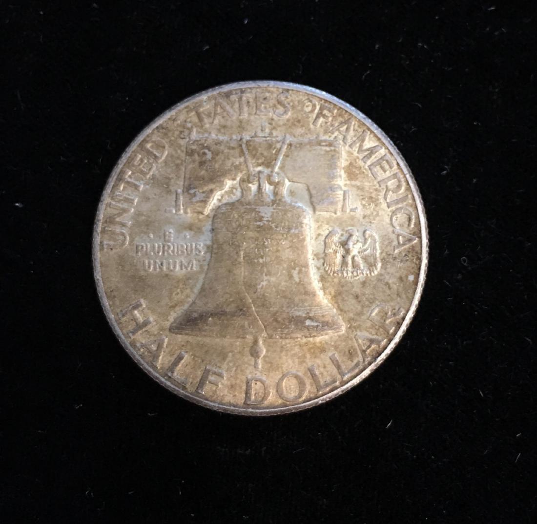 1949-S 50c Franklin Half Dollar AU - 2