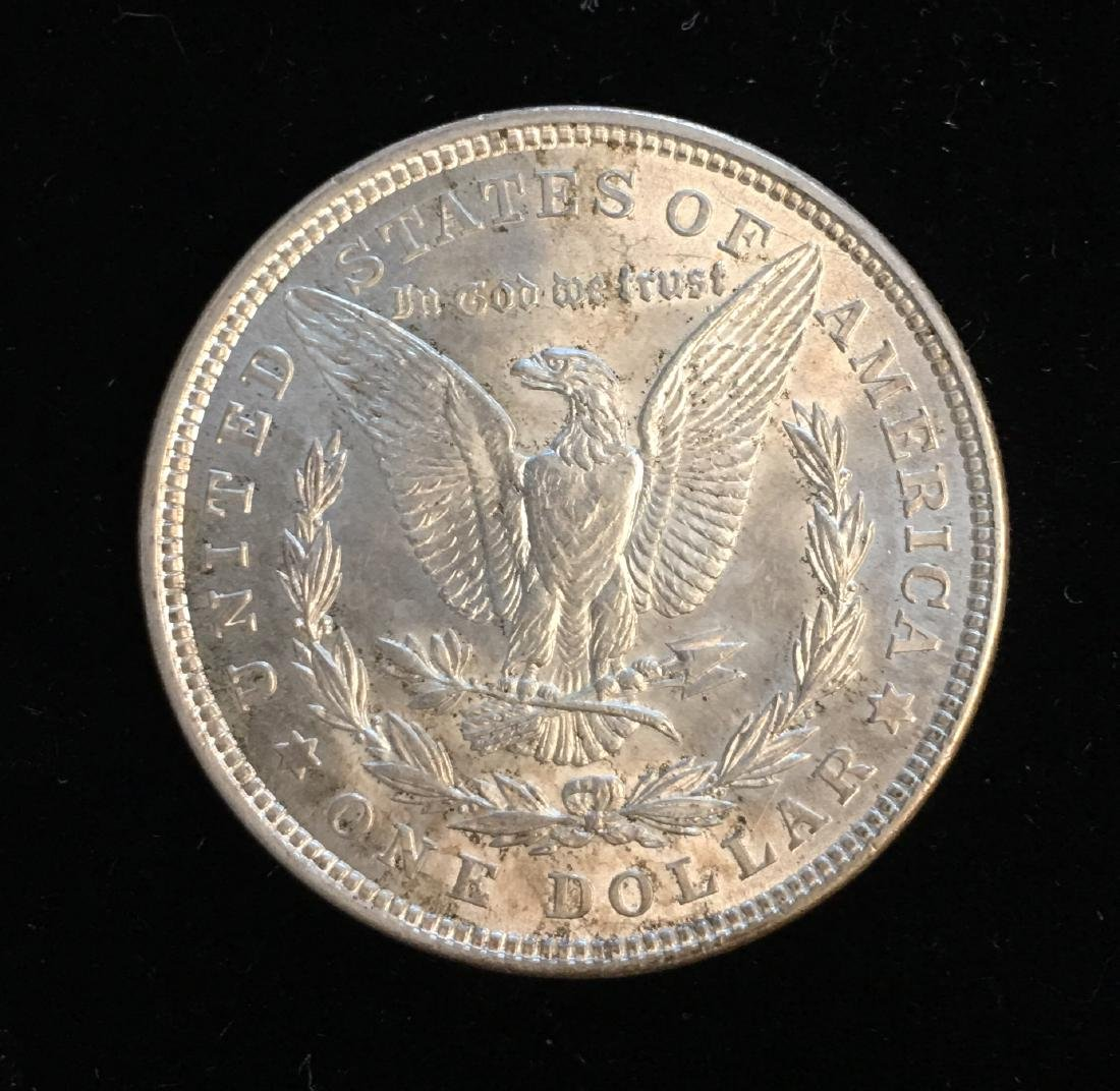 1921-P $1 Morgan Silver Dollar BU - 2